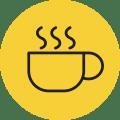 אייקון כוס קפה